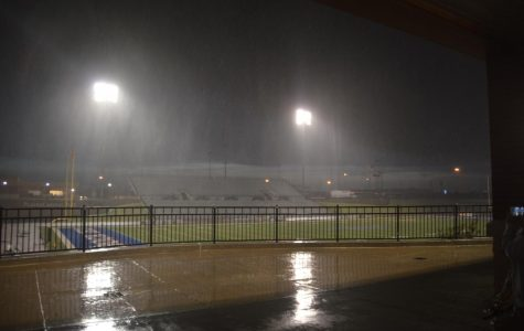 Homecoming's stormy delay