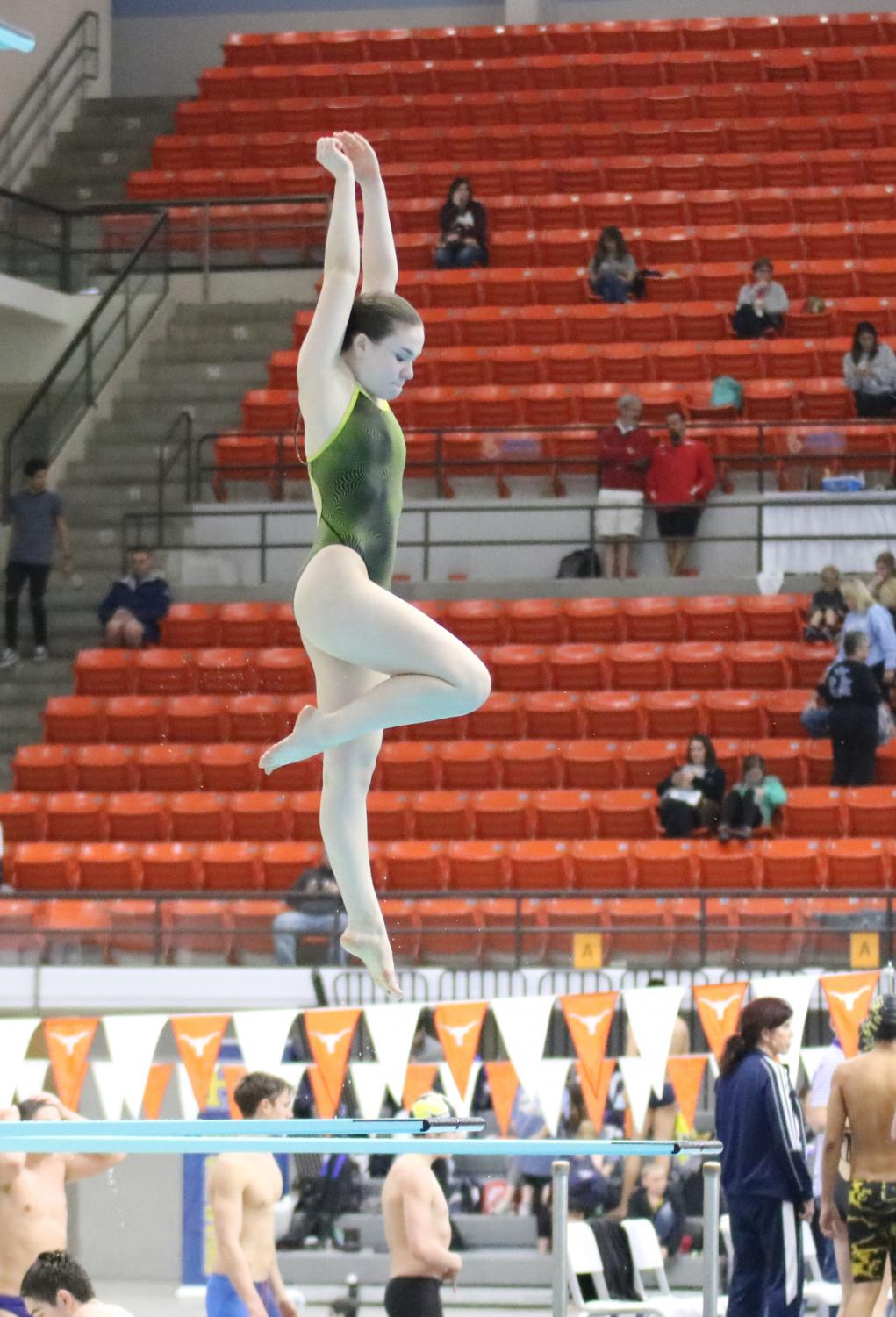 Props competing during the state meet.