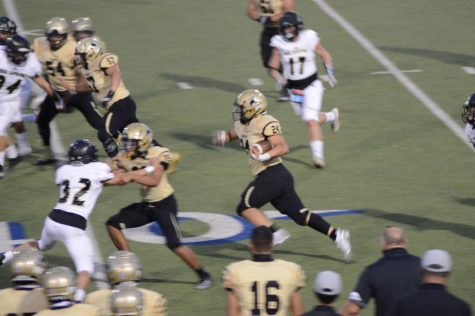 First game of the season and a victory for Lubbock High